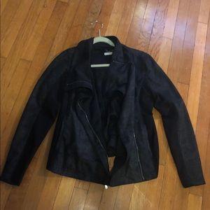 Calvin Klein Faux Suede Jacket